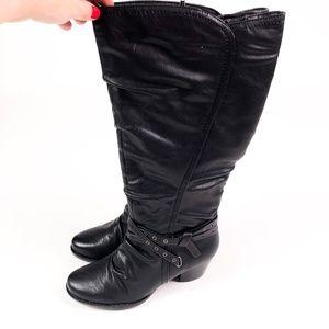 Like New BareTraps Knee High Boot Size Zip